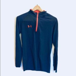 Men's Under Armour 1/4 Zip Loose Fit Pullover.